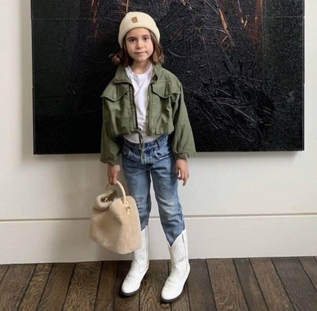 El súper look envidiable de la hija de Kourtney Kardashian