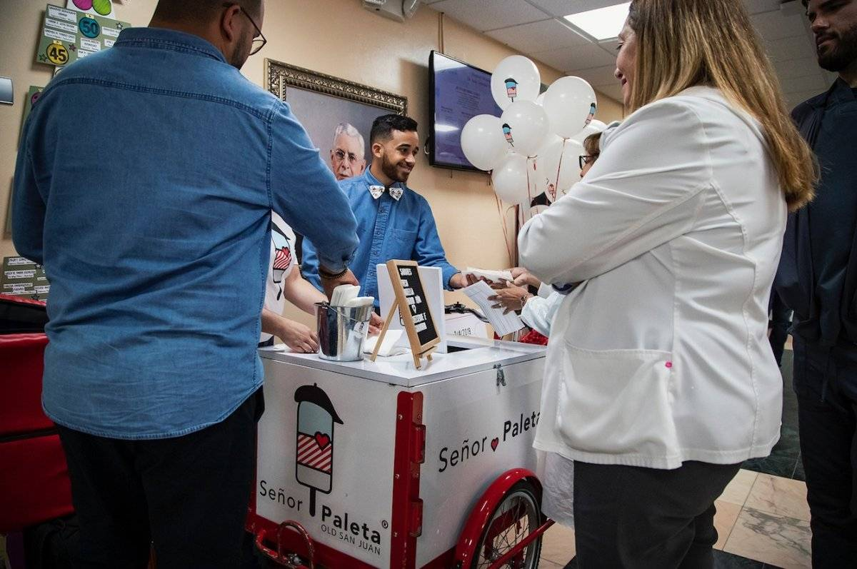 senor paleta recauda dinero pacientes oncologico
