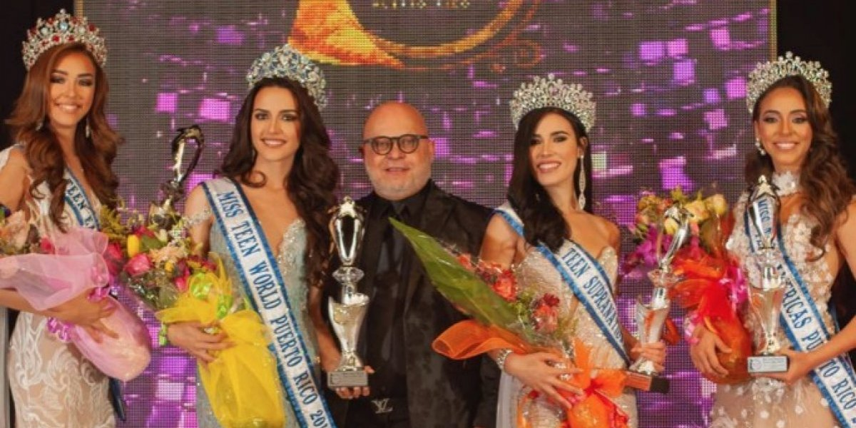 Con nuevas reinas Miss Teen World Puerto Rico