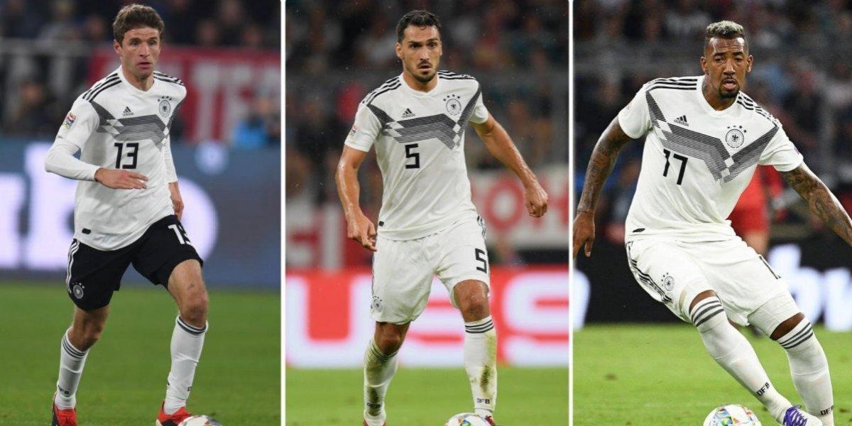 Alemania ya no contará más con Müller, Hummels y Boateng