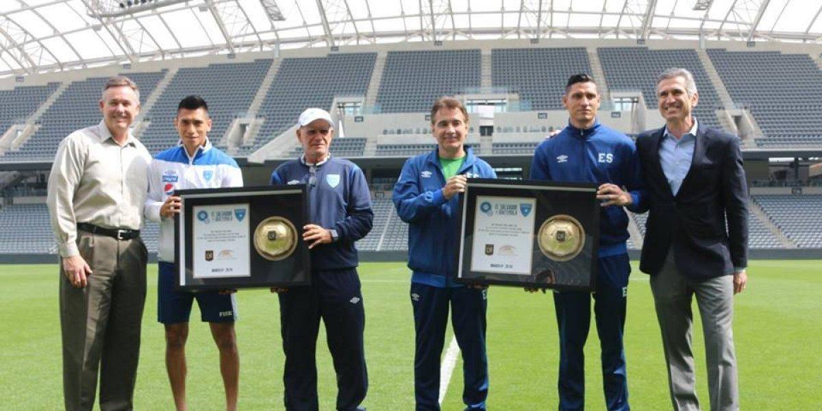 Guatemala vs El Salvador, el primer juego internacional en el Banc of California