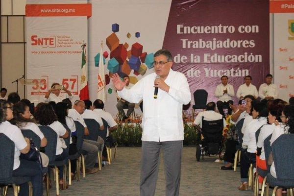 SNTE pide salario digno, basificación y capacitación