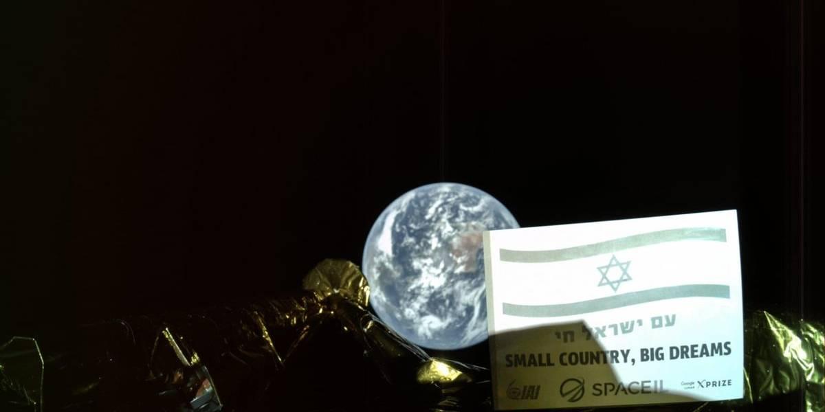 Nave lunar de Israel envía su primer selfie desde el espacio