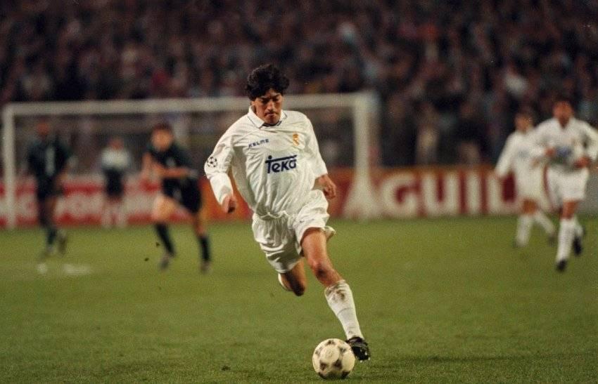 Iván Zamorano sufrió una dolorosa eliminación con el Real Madrid en la Copa UEFA 1994-1995 / Foto: Getty Images