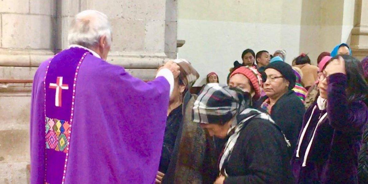 La tradición del Miércoles de Ceniza en Totonicapán