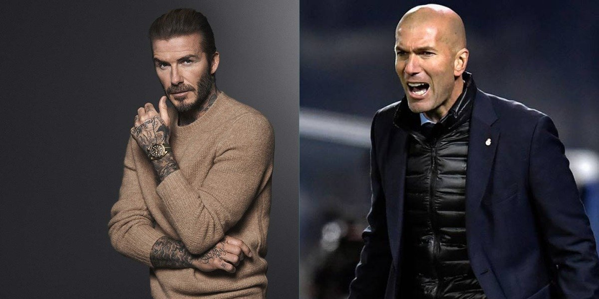 Zidane y Beckham vuelven hacer de las suyas