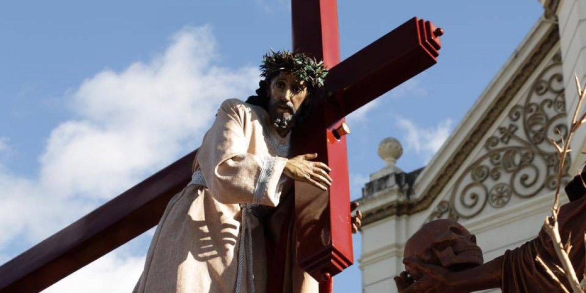 VIDEO. Así se vivió la salida de Jesús Nazareno de la Justicia en su procesión penitencial