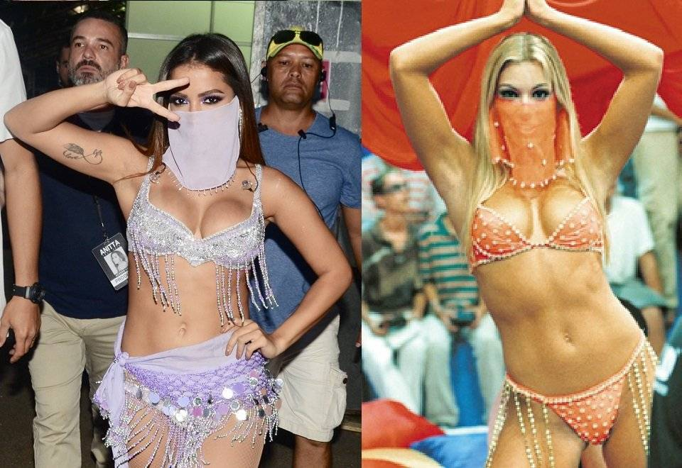 Anitta Carnaval Feiticeira