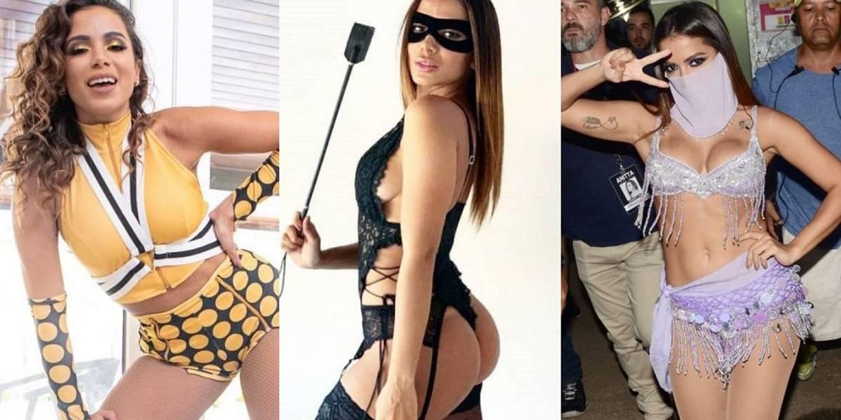 Tiazinha, Feiticeira, É o Tchan: Looks de Anitta no Carnaval lembram ícones dos anos 1990 e 2000