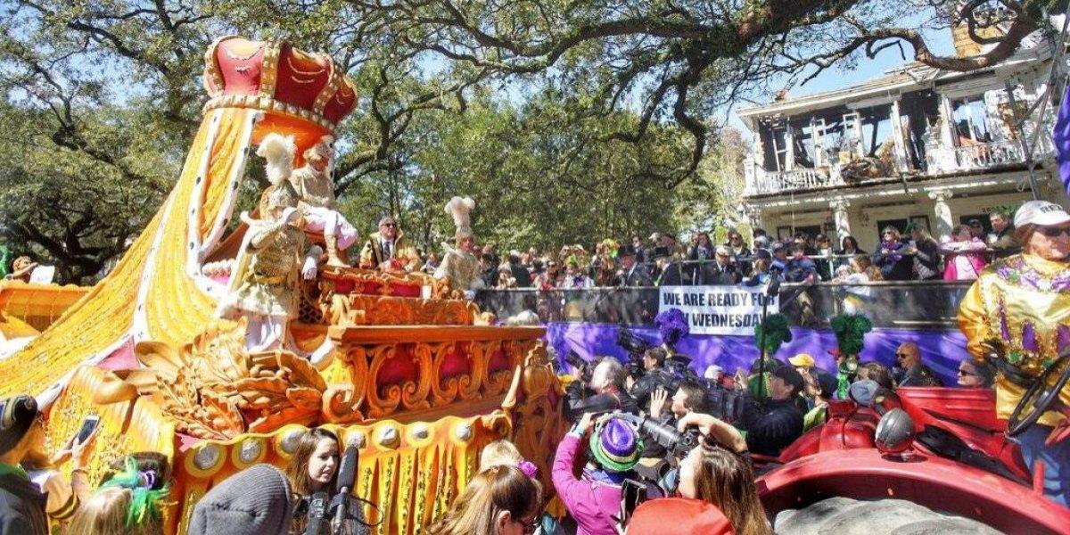 Nueva Orleans festeja su carnaval Mardi Gras