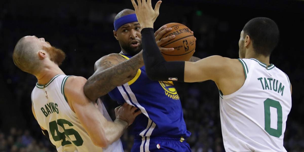 Celtics de Boston aplastan a los campeones Golden State Warriors