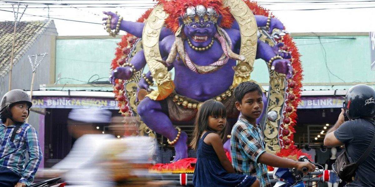 Bali festeja el Día del Silencio sin vuelos ni Internet