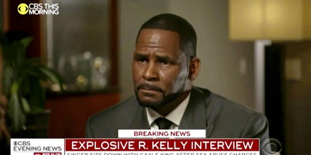 R. Kelly enfurece durante entrevista de televisión