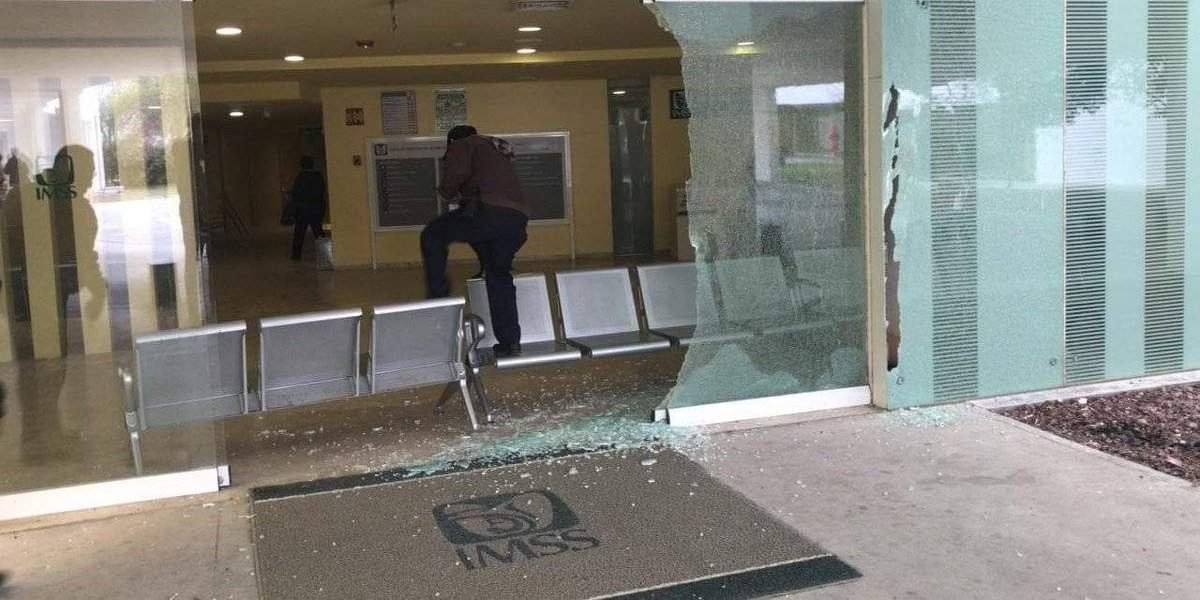 Balacera en Reynosa causa pánico en hospital del IMSS
