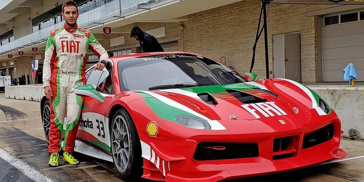 Benjamín Hites abre su 2019 con el Ferrari Challenge
