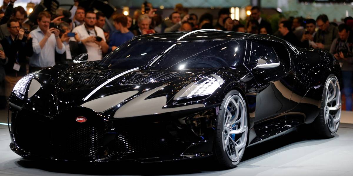 Mega-Sena: prêmio dá para comprar três Bugatti La Voiture Noire, o carro mais caro do mundo