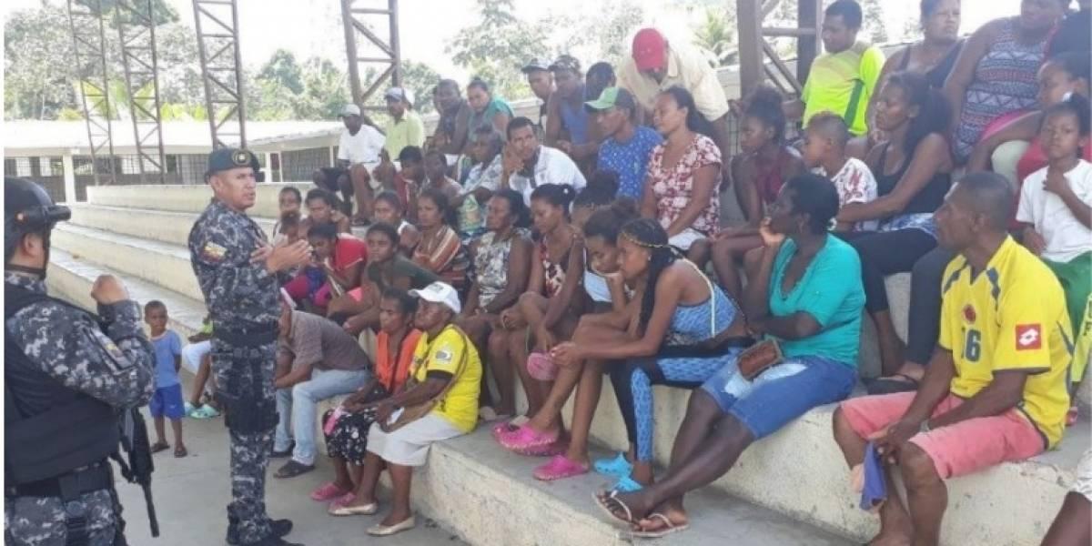 Más de 200 colombianos desplazados de Nariño se encuentran en casas de acogidas ecuatorianas