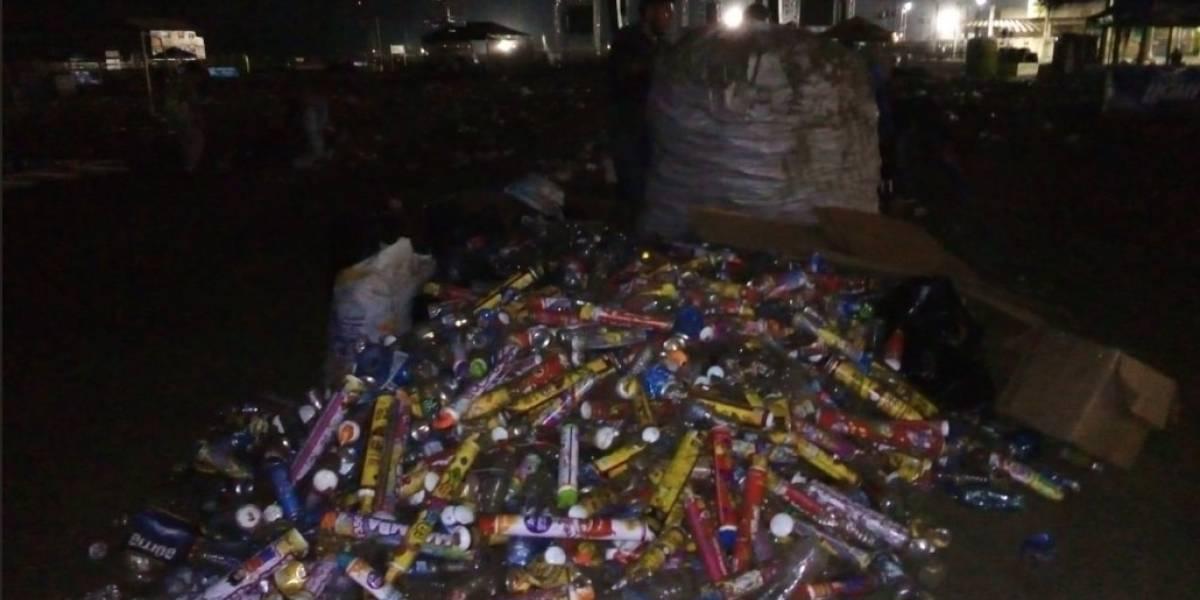 Reacciones tras playas llenas de basura por festejo de Carnaval