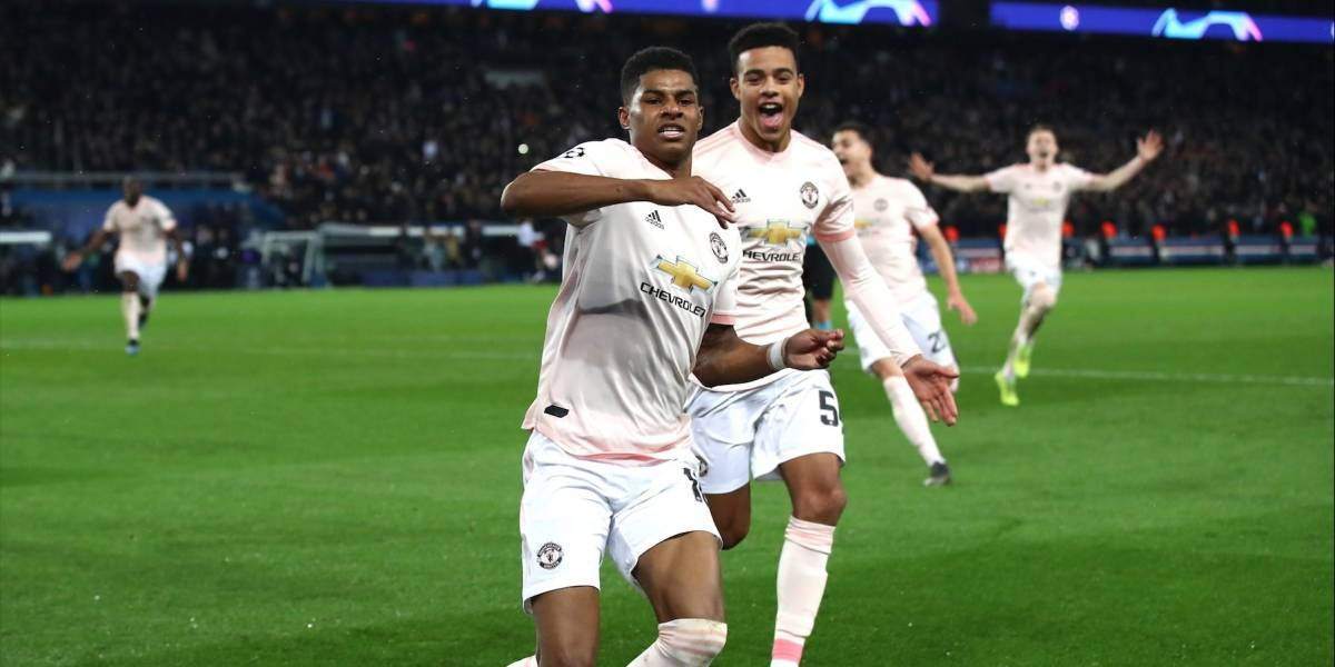 Manchester United, el causante del apagón en la Ciudad Luz
