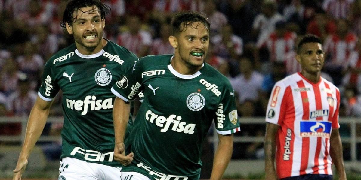 ¡Palmeiras, tu papá! Junior volvió a caer contra el equipo brasileño en Copa Libertadores