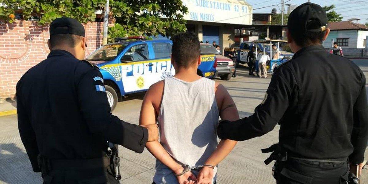Hombre es capturado en San Marcos tras presuntamente dar muerte a su esposa