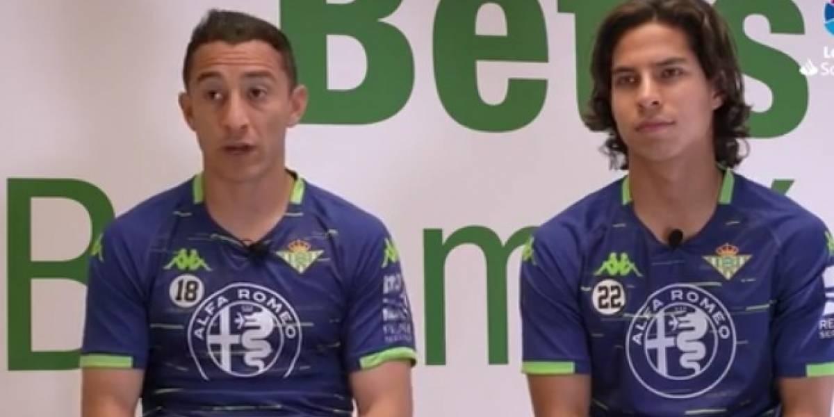 No se guardaron nada, Andrés y Lainez más libres que nunca en España