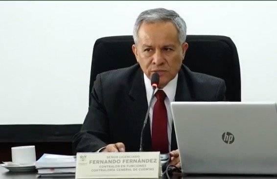 Fernando Fernández, contralor en funciones