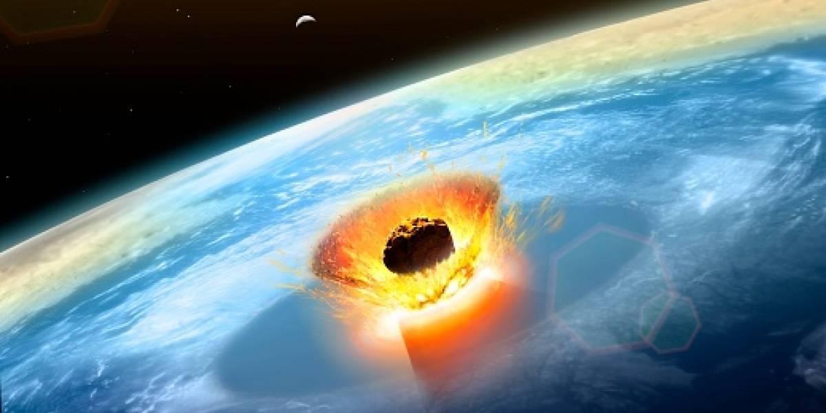 Esto es lo que pasaría si un asteroide impacta con la tierra