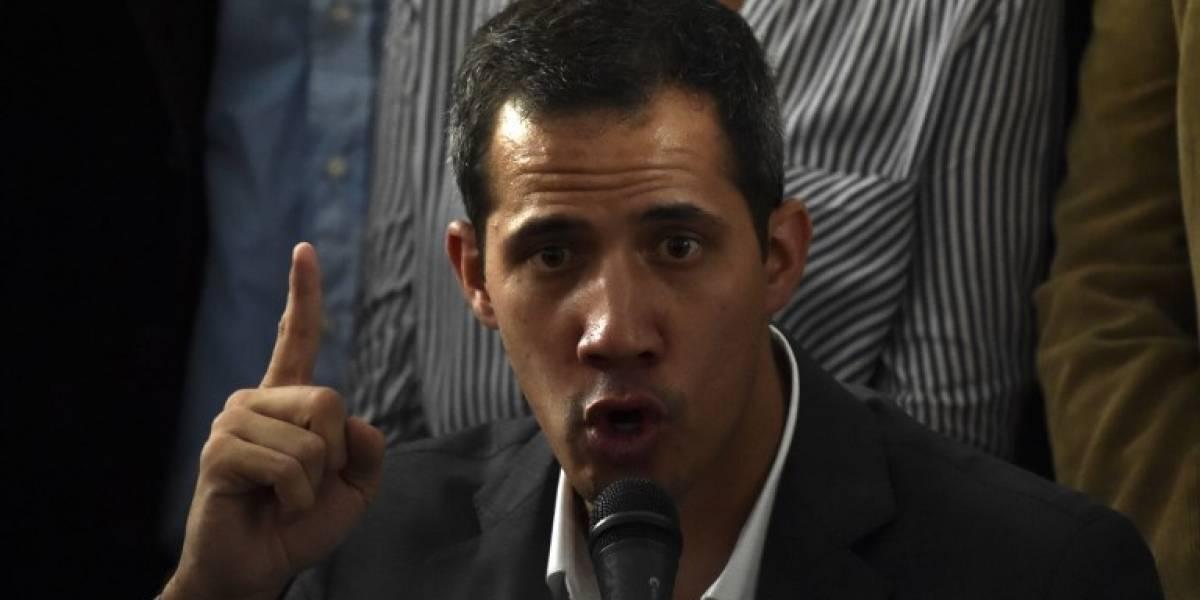 """Guaidó le pide a España una posición """"más dura"""" frente a Venezuela"""