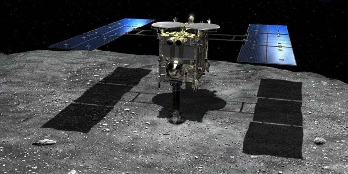 La Nave espacial Hayabusa2 comienza su regreso a la Tierra