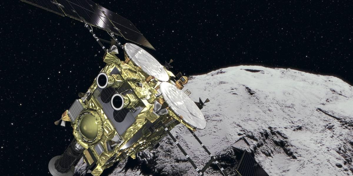 Sonda japonesa Hayabusa 2 bombardea asteroide para crear cráter artificial en su superficie