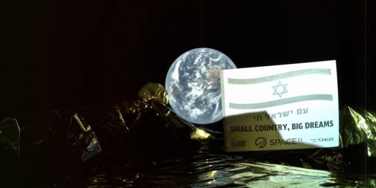 Bereshit: la primera sonda israelí ya está en el espacio y envió una selfie con la Tierra para demostrarlo