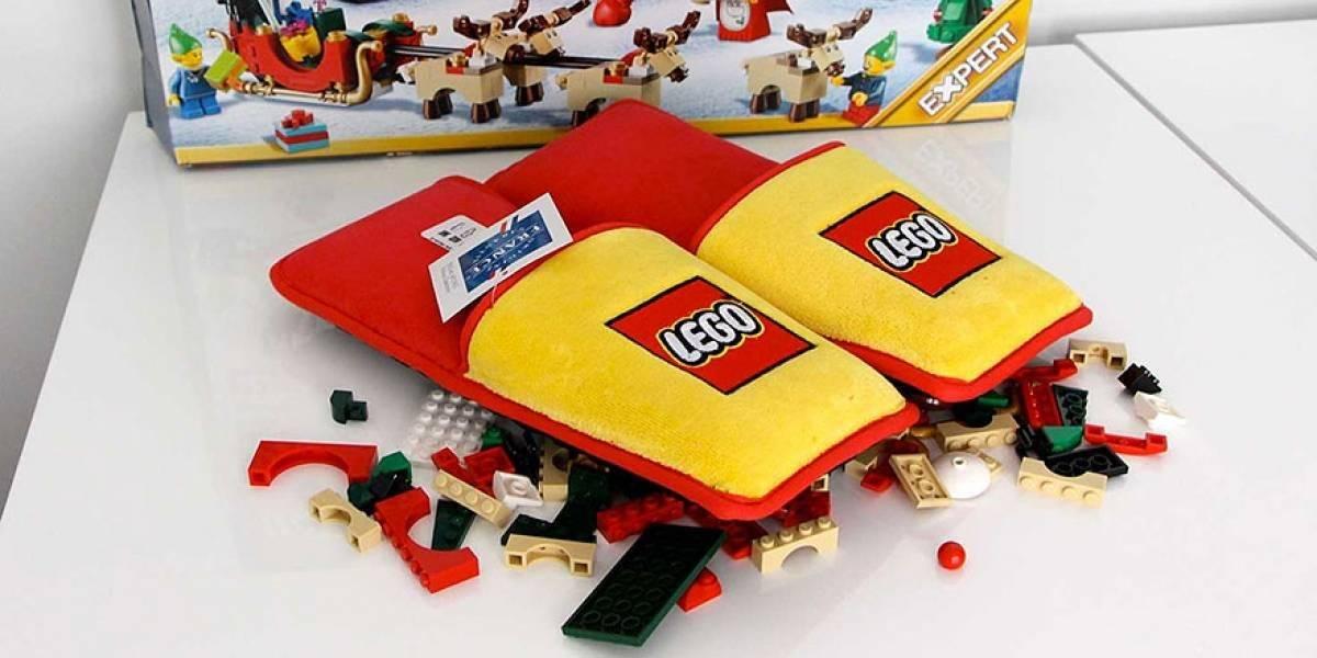 Pantuflas Lego