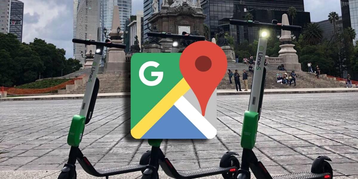 Google Maps y Lime se alían para que puedas ver la ubicación de los scooters
