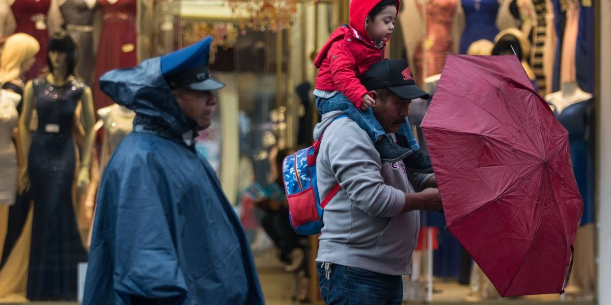 Tormentas y ambiente frío ocasionará el frente 41 en gran parte del país