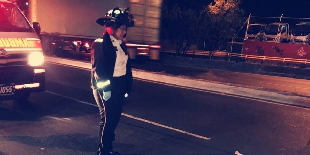 Motorista muere tras ser atropellado en ruta al Atlántico