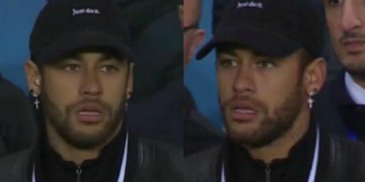 Neymar explota contra el VAR tras la eliminación del PSG