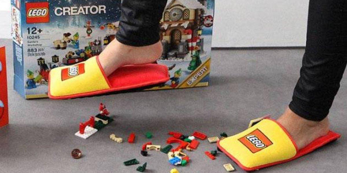Lego crea unas pantuflas Anti-Lego para terminar con años de tortura