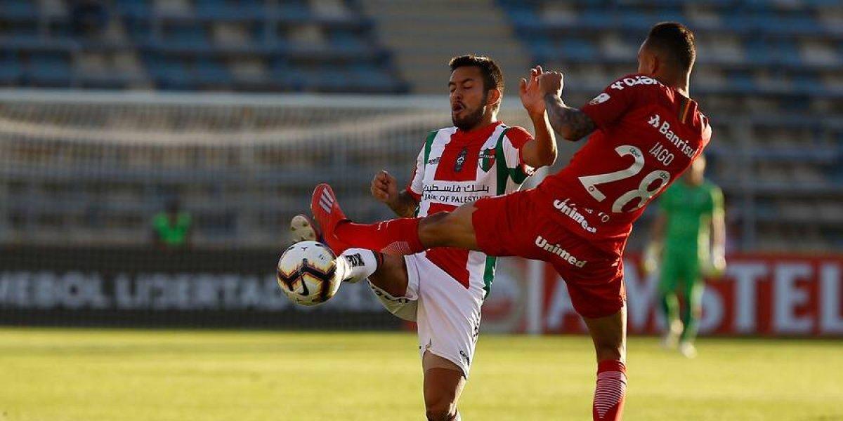 Así vivimos la ingrata derrota de Palestino ante Internacional por la Libertadores
