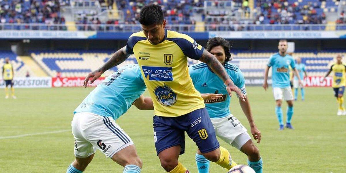 Así vivimos el triunfazo de la U. de Concepción sobre Cristal con cuatro goles de Pato Rubio