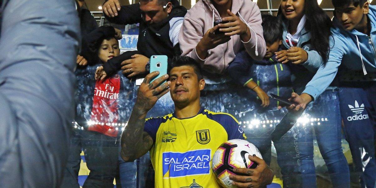 """La alegría de Pato Rubio tras su póker en la Libertadores: """"Esto no se da todos los días"""""""