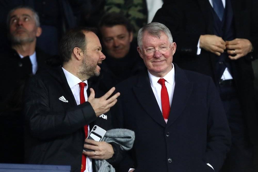 Alex Ferguson estuvo presente en el juego de su exquipo Getty Images