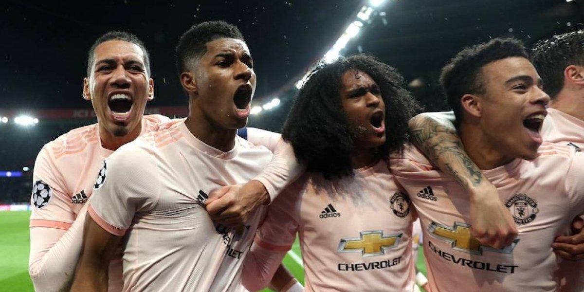 PSG vuelve a fracasar en la Champions League, Man United califica a cuartos