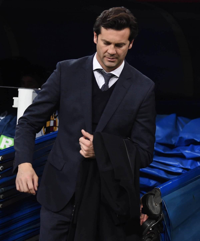 Solari aparentemente se reunió con el presidente del Madrid en la madrugada |GETTY IMAGES