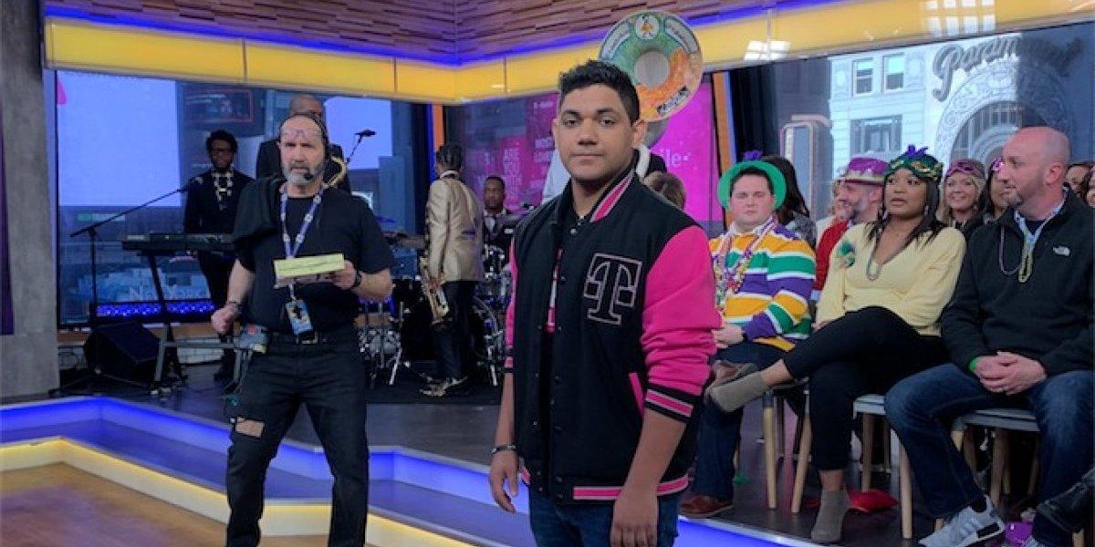 Joven boricua destacado en Good Morning America por ganar competencia de T-Mobile