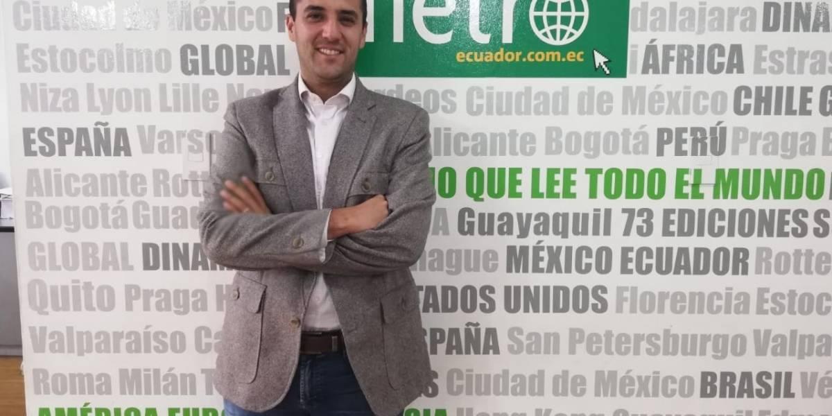 Juan Carlos Holguín busca la Alcaldía de Quito para generar empleo y oportunidades