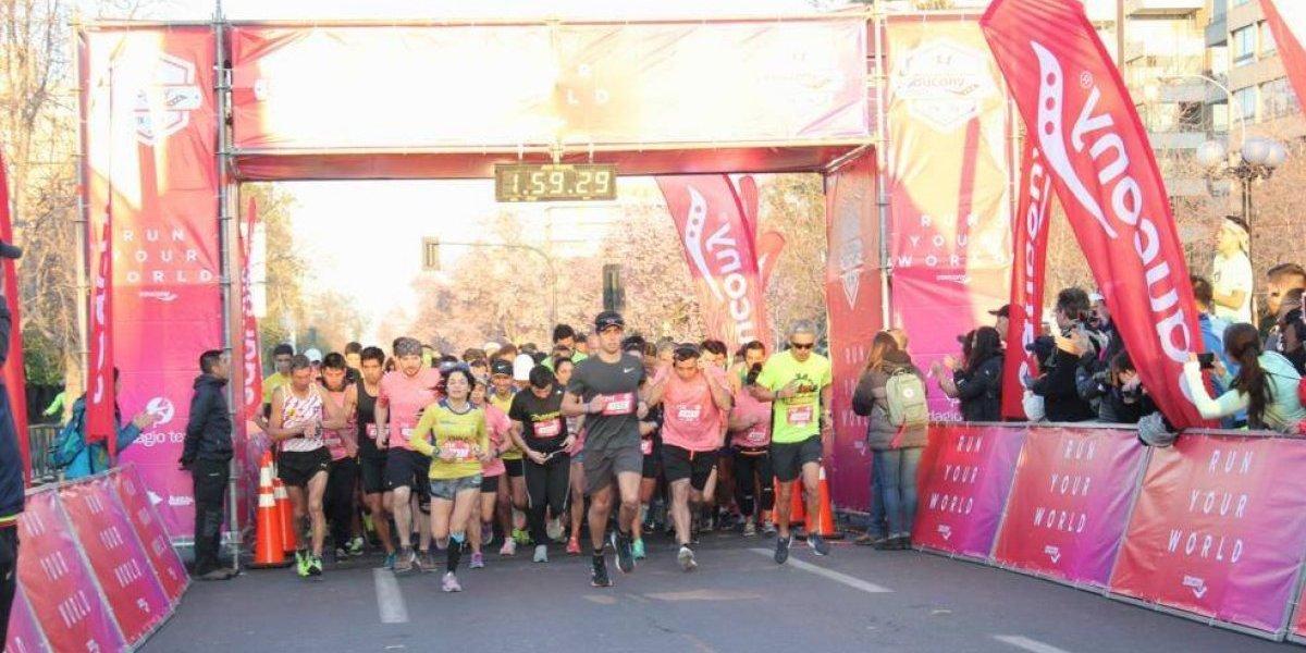 La carrera más rápida de Chile
