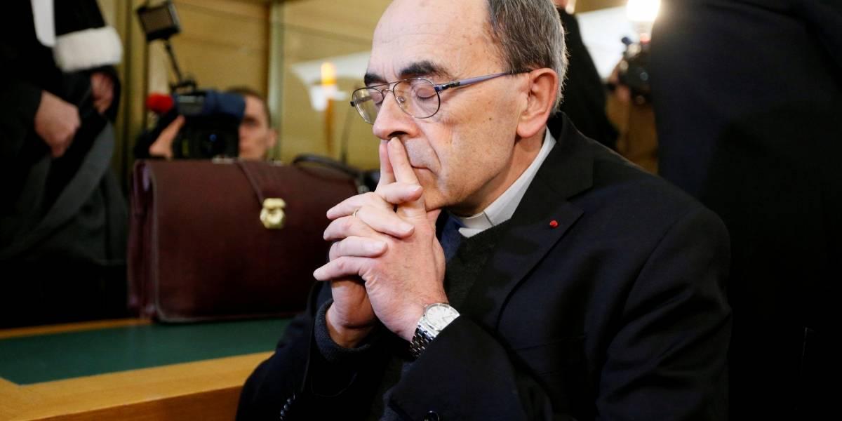 Cardeal francês é condenado a prisão por esconder casos de pedofilia