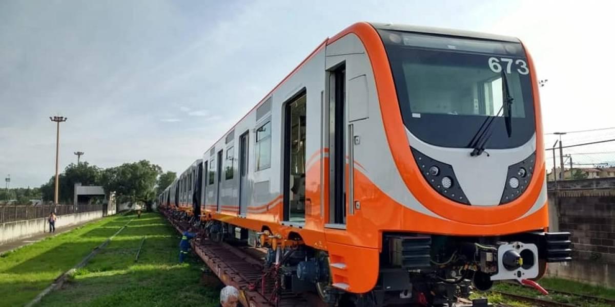 Pronto llegará a la CDMX el Tren Toro de la Línea 1 del Metro