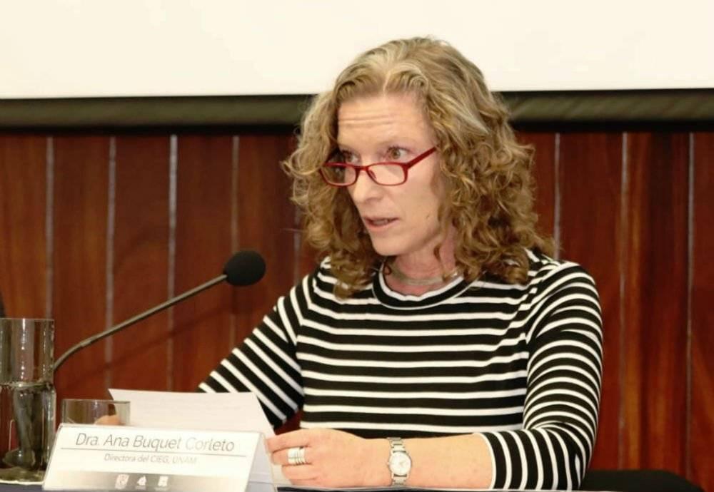 Ana Buquet Foto: Cortesía UNAM